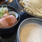 鶏とろみつけ麺