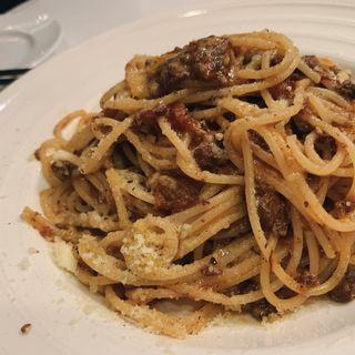 じっくり煮込んだミートソース(バール トラットリア トムトム (Italian Restanrant Tomtom))