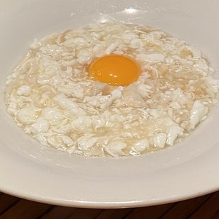 干し貝柱と白身魚の卵白炒め(パラダイスダイナシティ)