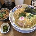 塩そば(中華そば桐麺)