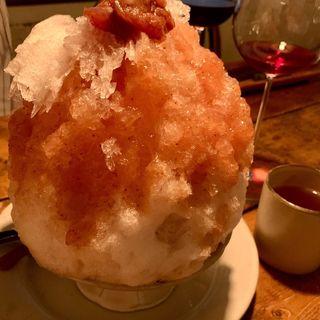 かき氷(麦酒屋 るぷりん )
