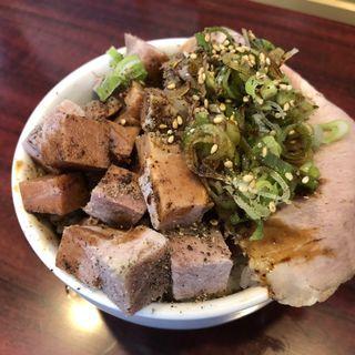 チャーシュー丼 ミニ(麺庭 寺田屋 近江八幡店)