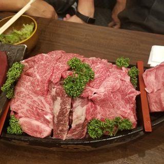 肉の舟盛り(ミキスケ )