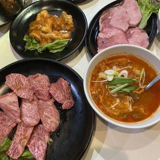特上肉盛り合わせ(焼肉ジャンボ  習志野店 )