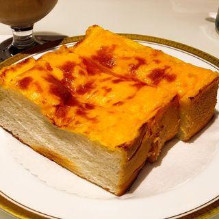 チーズトースト(丸福珈琲店 ヨドバシ「AKIBA」店 (まるふくこーひーてん))
