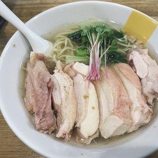 塩生姜らー麺肉増し
