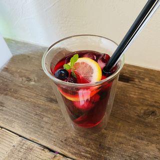 5種のベリーとざくろのジュース(リコリス)