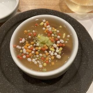 本日の茶碗蒸し(日本料理 秀たか)