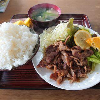 焼肉定食(生姜焼き)(さかさ食堂 )