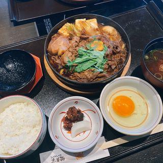 すき焼き定食(木曽路 守口店 )