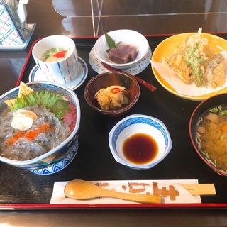 地魚の天ぷら定食