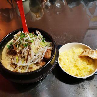 カレーラーメンランチ(橙~オレンジ (ダイダイ~オレンジ))