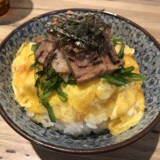 豚丼(博多豚骨らーめん銀水)
