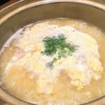 のどぐろ出汁で食べる雑炊