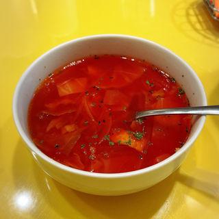 スープサラダセット(関谷スパゲティ )
