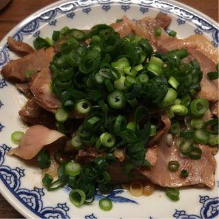 煮込み焼豚皿(一蘭 仙台駅前店)