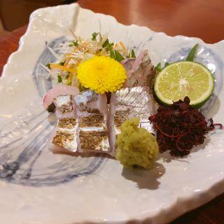 太刀魚の炙り(ひだりうま)