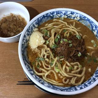 濃厚カレー担々麺