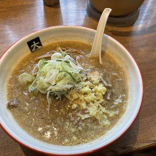味噌ラーメン(大島)
