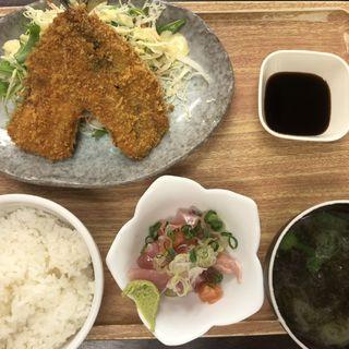 イワシフライ定食(魚豊 人形町店)