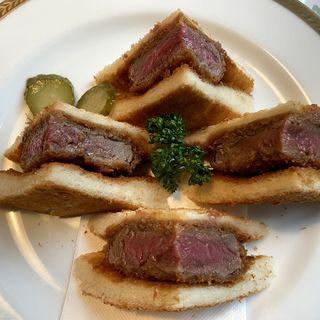 牛ヒレ肉のカツサンド(レストラン クインベル )
