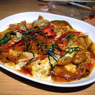 パネーン(豚肉のレッドカレー炒め)(タイ田舎料理 クンヤー )