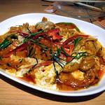 パネーン(豚肉のレッドカレー炒め)