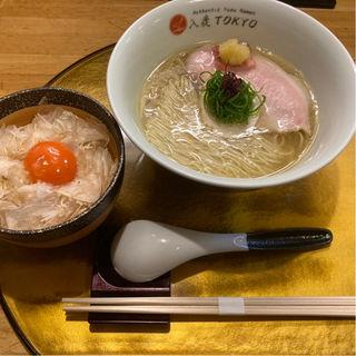 柚子塩らぁ麺(IRUCA-Tokyo- 入鹿東京)