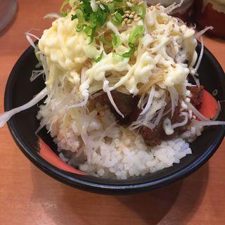 からあげ丼(オレ流塩らーめん 東急本店前)