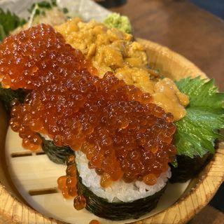 ウニといくら桶(タカマル鮮魚店 )