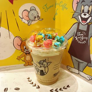 キャラメルポップコーンナッツラテ(タリーズコーヒー 日本橋YUITOアネックス店 (TULLY's COFFEE))