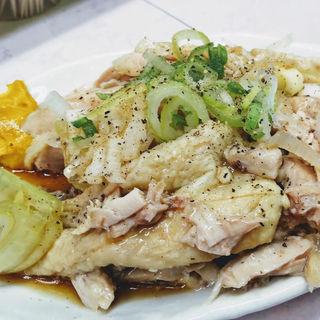 蒸し鶏(岐阜屋 (ギフヤ))