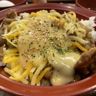 チーズ牛カルビ丼(すき家 豊中曽根店 )
