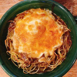焼きスパゲティ(ミートソース)(ストーン )