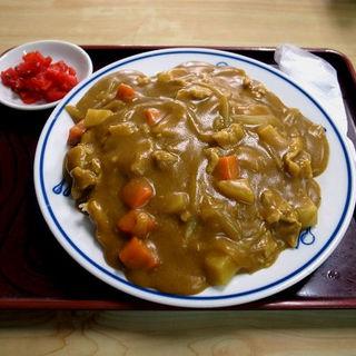 カレーライス(可祢井そば (カネイソバ))