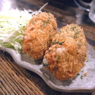 鮭とキノコのクリームコロッケ(闇市 )