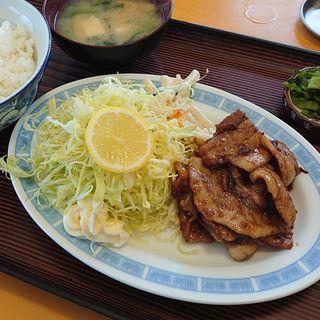 生姜焼き定食(ふくや食堂 )