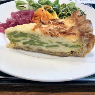 桜海老とそら豆の豆腐キッシュ(ディーン&デルーカ マーケットストア 有楽町店)