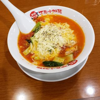 太陽のチーズラーメン(太陽のトマト麺 十日市場支店 )