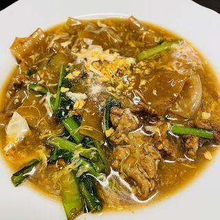 タイ風あんかけ麺(マンゴツリーカフェ 上野)