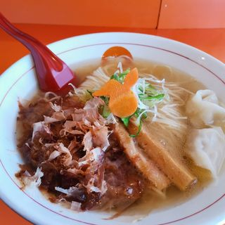 追い鰹チャーシューワンタン麺(中華そば うさぎ )