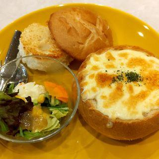 グラタンパン サラダ付(珈琲館 多賀城店 (コーヒーカン))