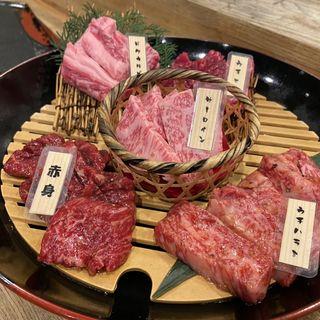 肉屋漆器盛り(七輪焼肉 肉屋 )
