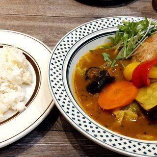 スープカレー チキン Mサイズ(Rojiura Curry SAMURAI.(路地裏カリィ侍.)  )