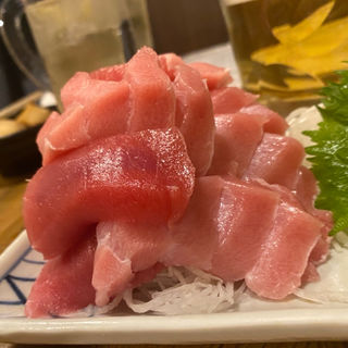 天然まぐろトロ赤身盛り(阪庄 (さかしょう))