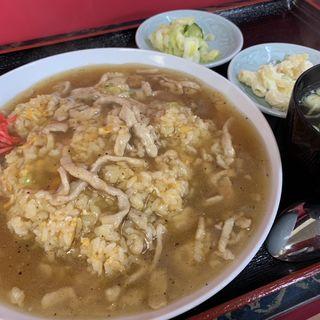 豚肉のあんかけチャーハン(富士食堂 )