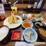 お造り天ぷら膳