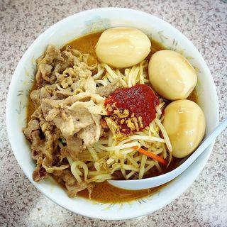 辛みそ肉タンメン(みそ一発2)