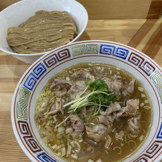 塩麹漬け焼き豚塩つけ麺(中華そば桐麺)