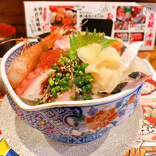 海鮮丼(ダイニング木鶏)